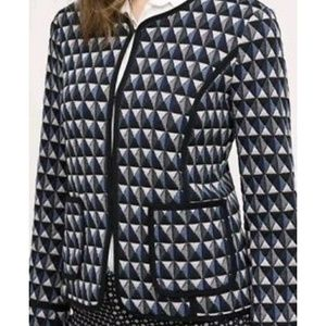 Anthropologie HEI HEI Geometric Hook Jacket